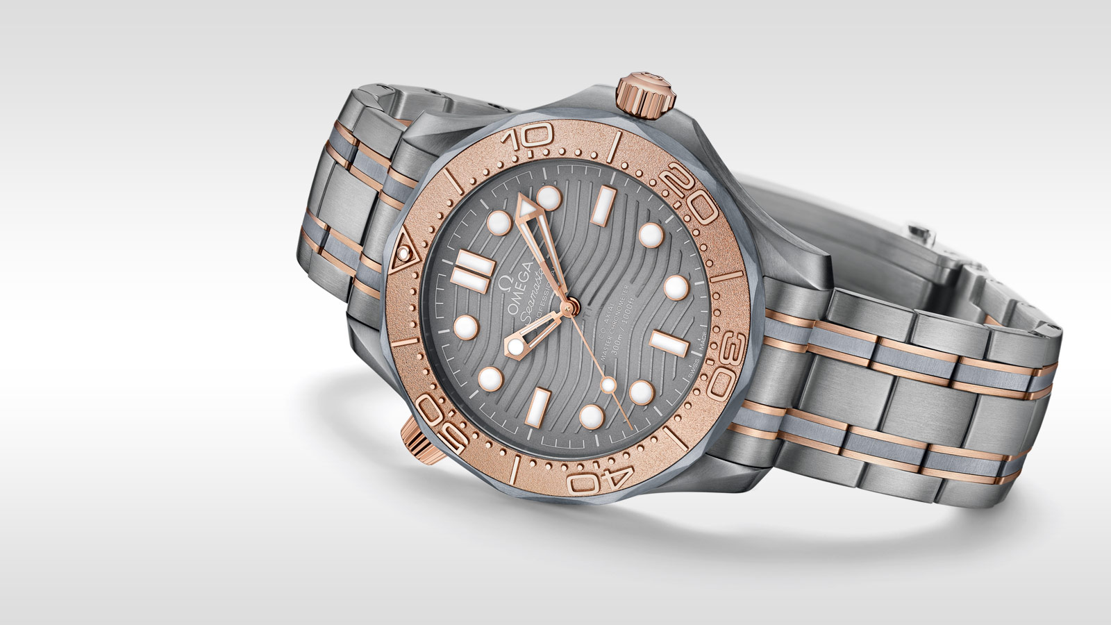 Seamaster Diver 300 M Diver 300M Omega Co‑Axial Master Chronometer 42 mm - 210.60.42.20.99.001 - Visualizzare 2