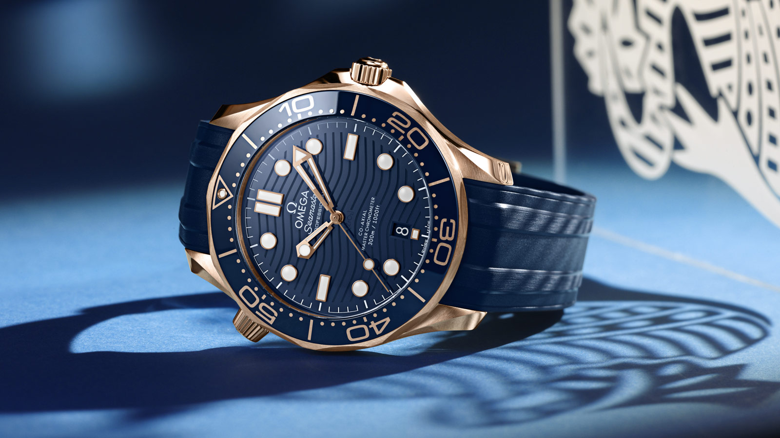 Seamaster Diver 300 M Diver 300M Omega Co‑Axial Master Chronometer 42 mm Montre - 210.62.42.20.03.001