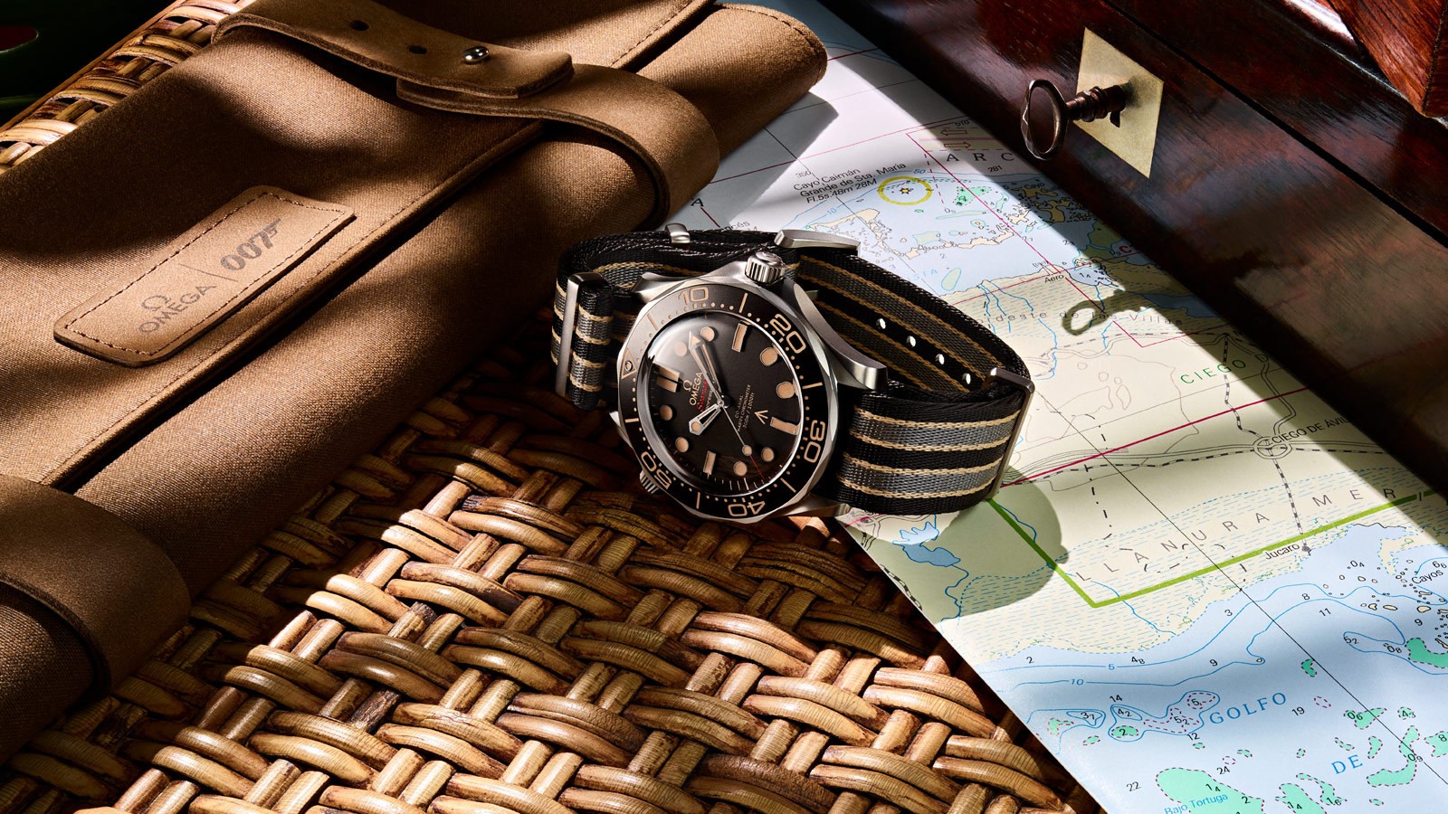 Seamaster Diver 300M Diver 300M Omega Co‑Axial Master Chronometer 42mm Watch - 210.92.42.20.01.001