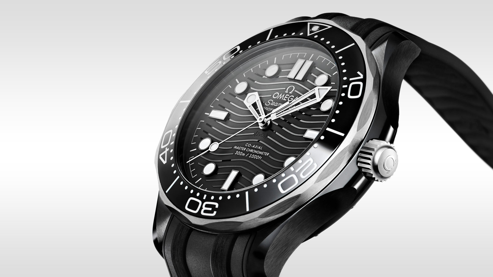 Seamaster Diver 300 M Diver 300M Omega Co‑Axial Master Chronometer 43.5 mm - 210.92.44.20.01.001 - Visualizzare 2