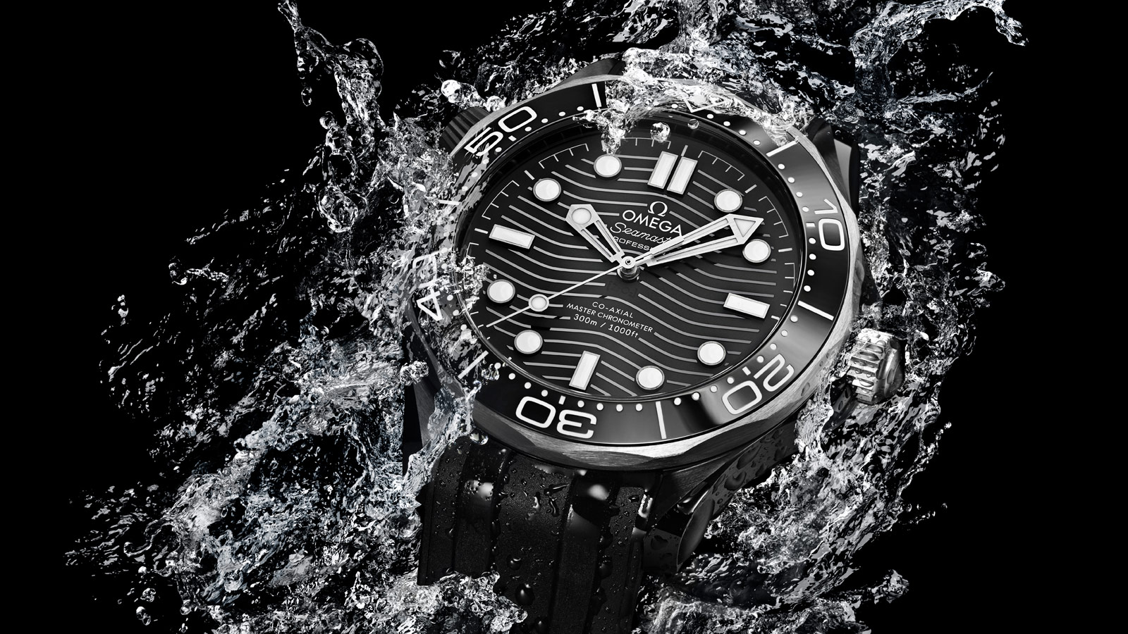 Seamaster Diver 300 M Diver 300M Omega Co‑Axial Master Chronometer 43,5 mm Referenz - 210.92.44.20.01.001