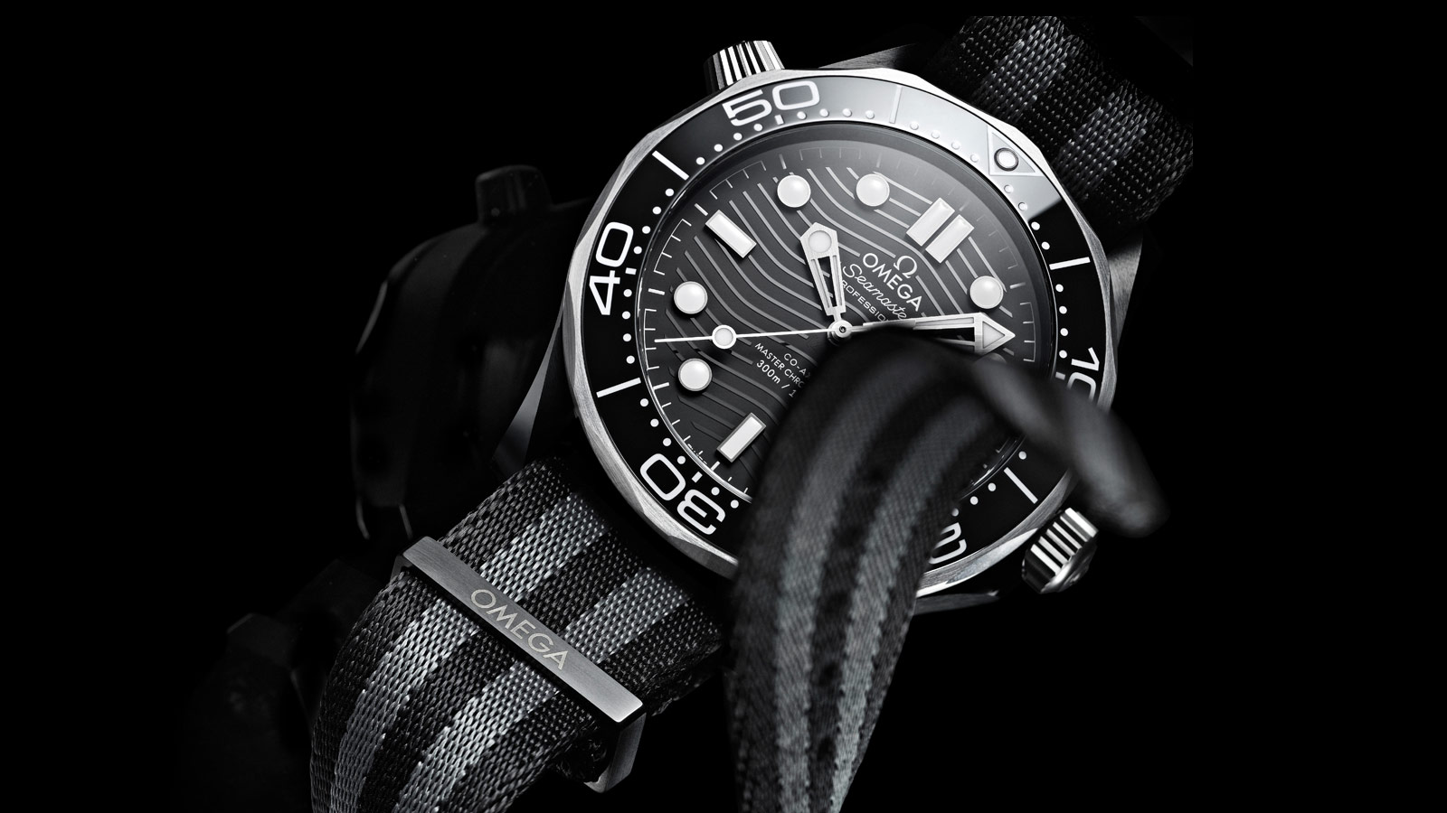 Seamaster Diver 300M Diver 300M Omega Co‑Axial Master Chronometer 43,5 mm - 210.92.44.20.01.002 - Vista 2