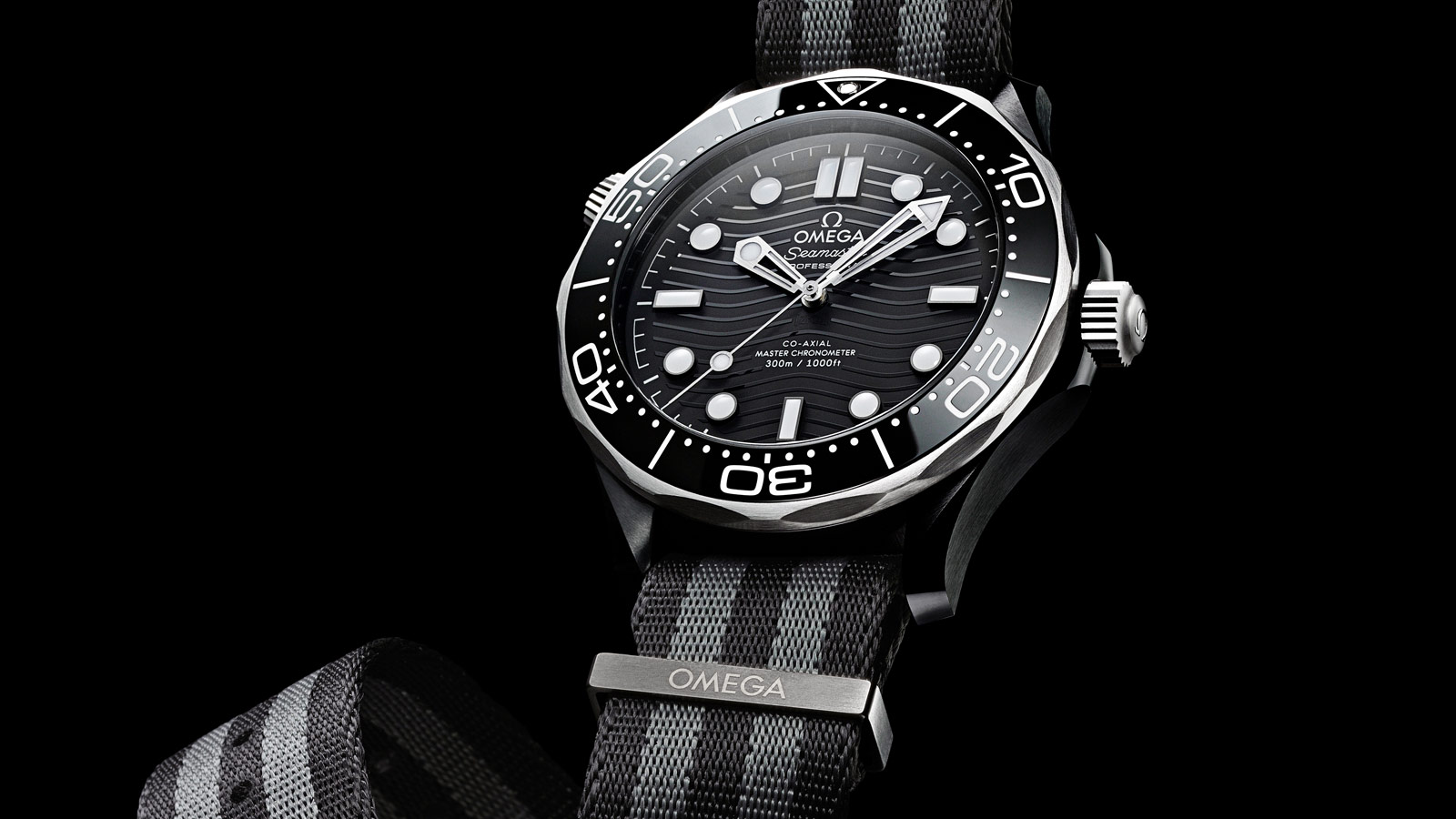Seamaster Diver 300 M Diver 300M Omega Co‑Axial Master Chronometer 43.5 mm Watch - 210.92.44.20.01.002