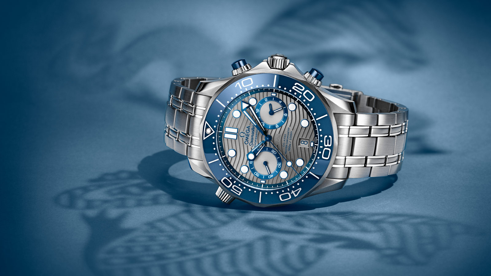 Seamaster Diver 300 M Diver 300M Omega Co‑Axial Master Chronometer Chronograph 44 mm Watch - 210.30.44.51.06.001
