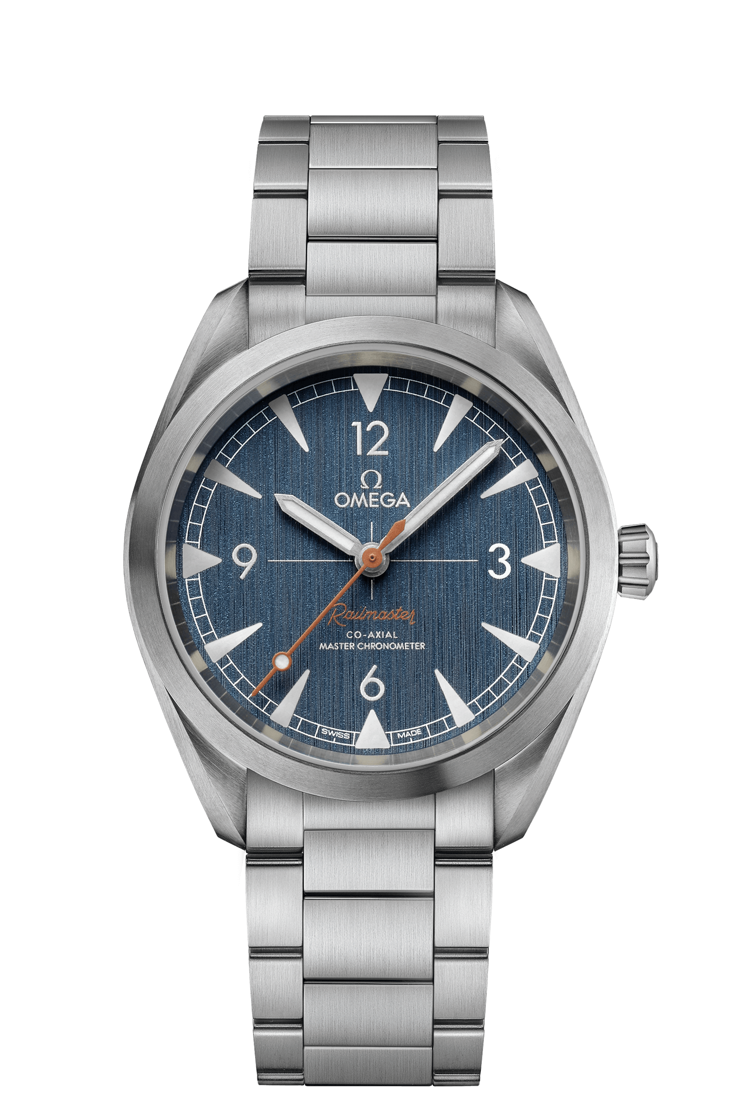 Railmaster Omega Co-Axial Master Chronometer 40 mm