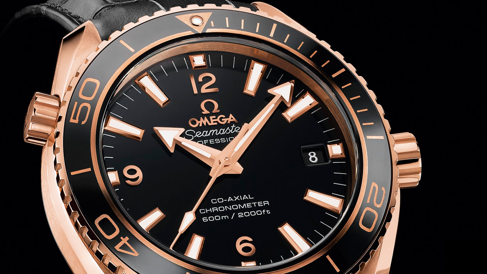 Seamaster Planet Ocean 600M Planet Ocean 600M Omega Co‑Axial 37,5 mm - 232.63.38.20.01.001 - Afficher 1