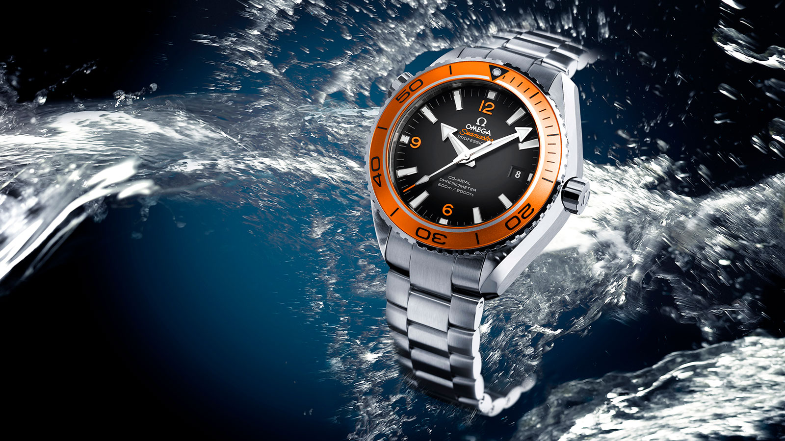 Seamaster Planet Ocean 600M Planet Ocean 600M Omega Co‑Axial 45.5 mm Watch - 232.30.46.21.01.002
