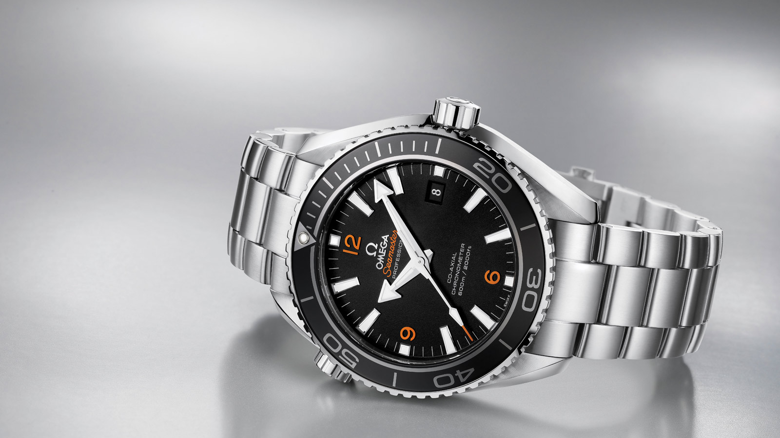 Seamaster Planet Ocean 600M Planet Ocean 600M Omega Co‑Axial 45.5 mm - 232.30.46.21.01.003 - View 1