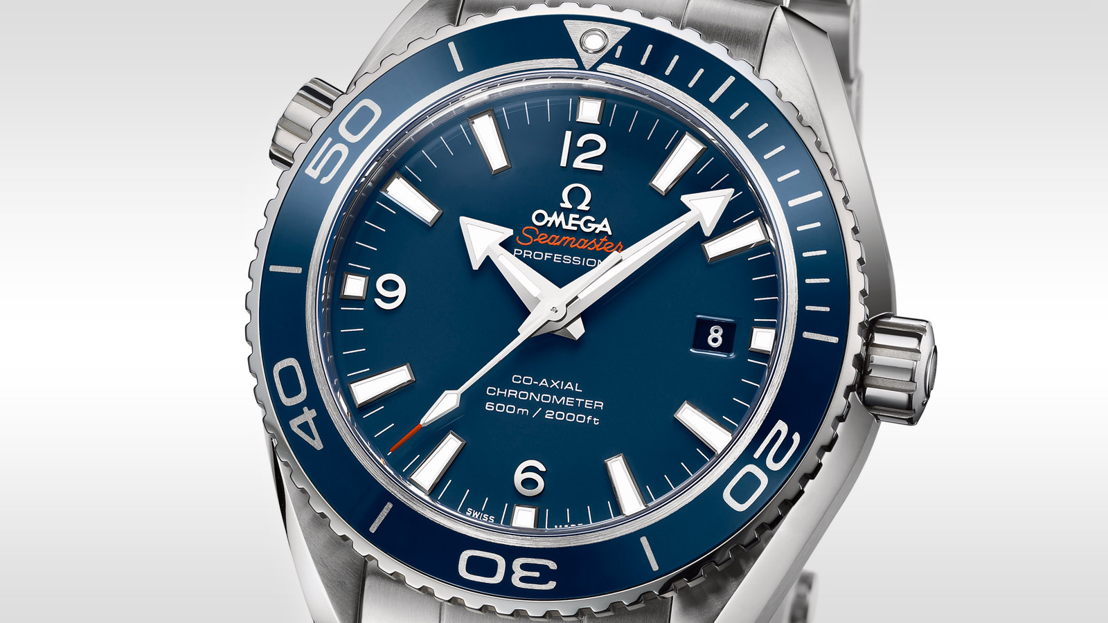 Seamaster Planet Ocean 600M Planet Ocean 600M Omega Co‑Axial 45.5 mm - 232.90.46.21.03.001 - View 2