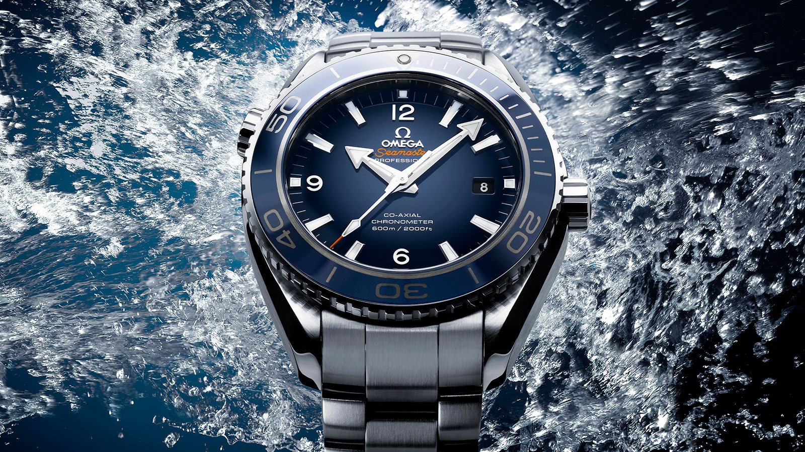 Seamaster Planet Ocean 600M Planet Ocean 600M Omega Co‑Axial 45.5 mm Watch - 232.90.46.21.03.001