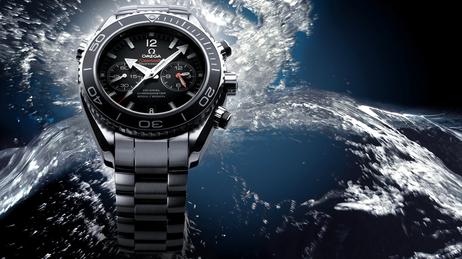 Seamaster Planet Ocean 600M Planet Ocean 600M Omega Co‑Axial Chronograph 45.5 mm - 232.30.46.51.01.001 - View 3