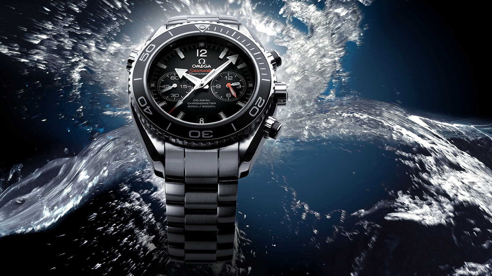 Seamaster Planet Ocean 600M Planet Ocean 600M Omega Co‑Axial Chronograph 45.5 mm Watch - 232.30.46.51.01.001