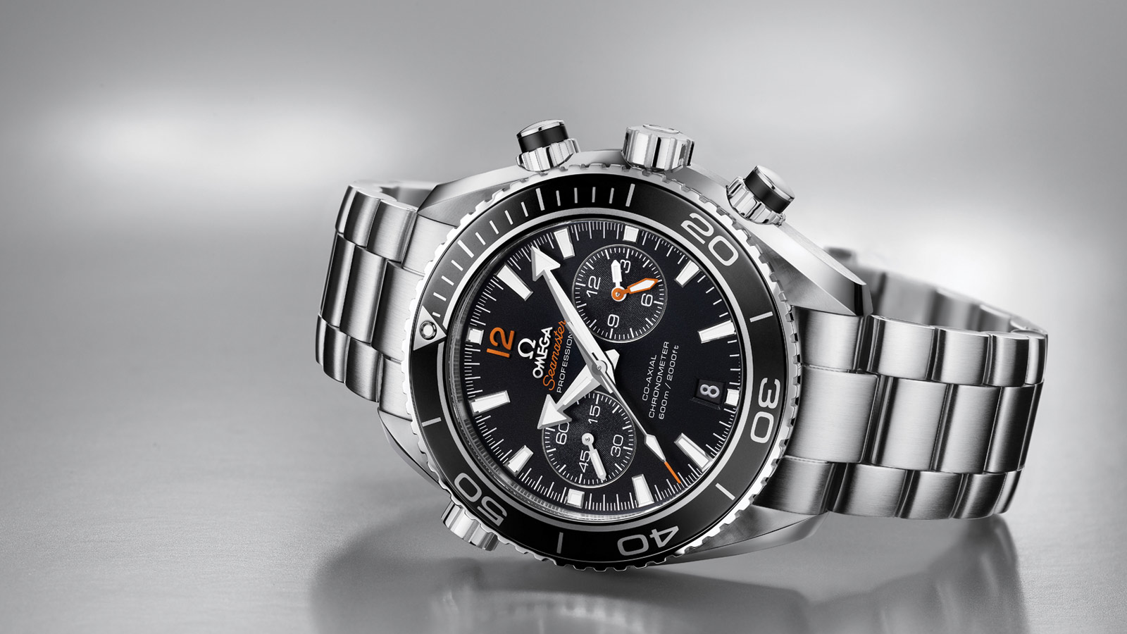 Seamaster Planet Ocean 600M Planet Ocean 600M Chronographe Omega Co‑Axial 45,5 mm - 232.30.46.51.01.003 - Afficher 1