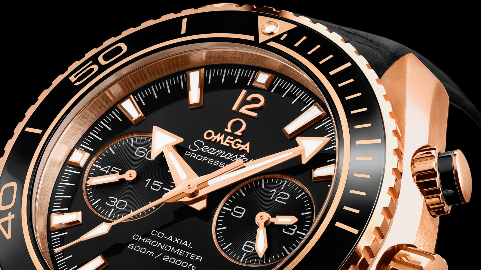 Seamaster Planet Ocean 600M Planet Ocean 600M Omega Co‑Axial Chronograph 45,5 mm - 232.63.46.51.01.001 - Vista 1