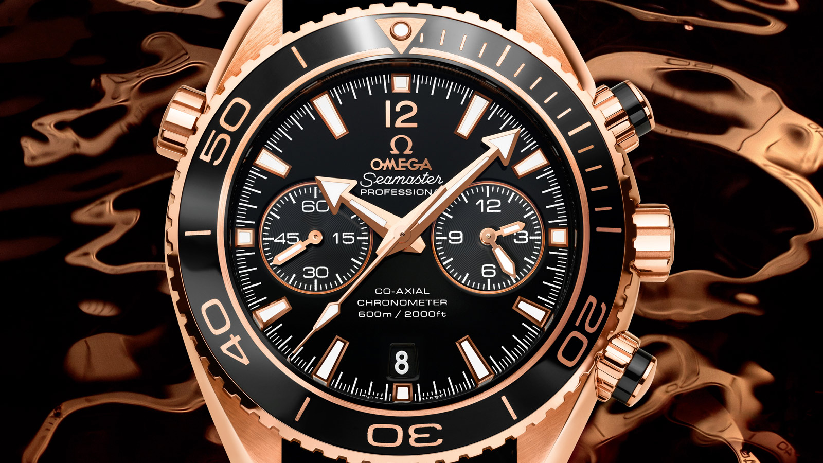Seamaster Planet Ocean 600M Planet Ocean 600M Omega Co‑Axial Chronograph 45,5 mm - 232.63.46.51.01.001 - Vista 3
