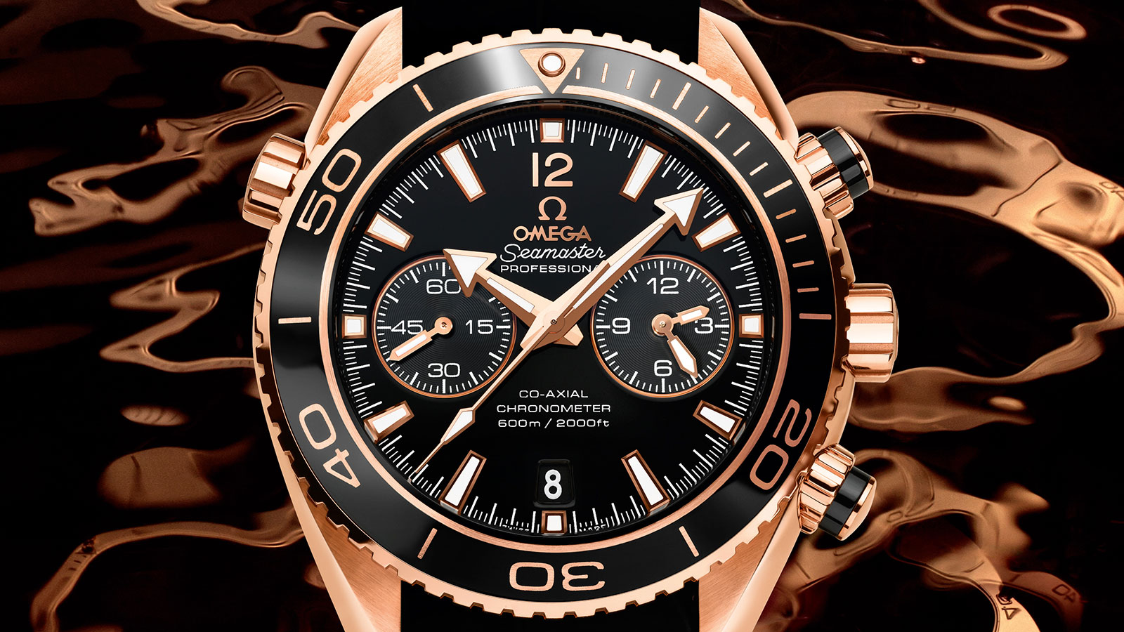 Seamaster Planet Ocean 600M Planet Ocean 600M Omega Co‑Axial Chronograph 45,5 mm Reloj - 232.63.46.51.01.001