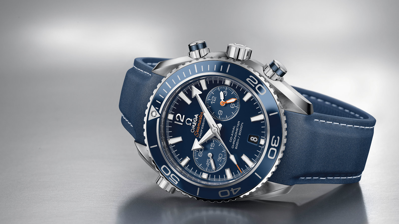 Seamaster Planet Ocean 600M Planet Ocean 600M Chronographe Omega Co‑Axial 45,5 mm - 232.92.46.51.03.001 - Afficher 1