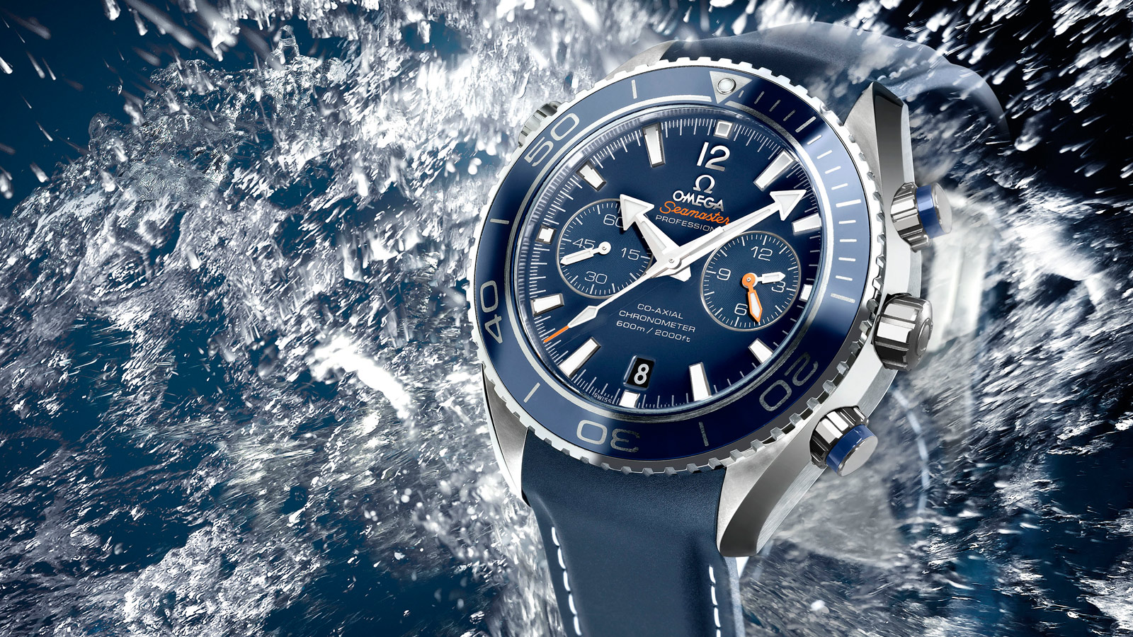 Seamaster Planet Ocean 600M Planet Ocean 600M Chronographe Omega Co‑Axial 45,5 mm - 232.92.46.51.03.001 - Afficher 2