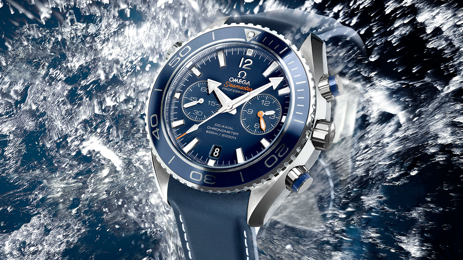 Seamaster Planet Ocean 600M Planet Ocean 600M Chronographe Omega Co‑Axial 45,5 mm Montre - 232.92.46.51.03.001