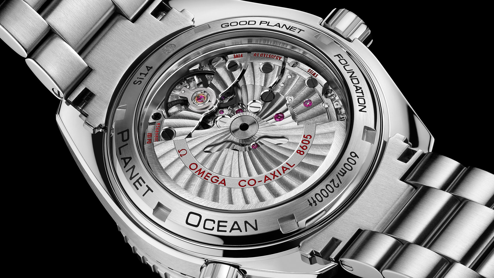 Seamaster Planet Ocean 600M Planet Ocean 600M Omega Co‑axial GMT 43.5 mm - 232.30.44.22.03.001 - View 2