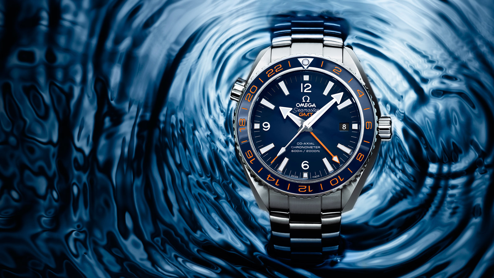 Seamaster Planet Ocean 600M Planet Ocean 600M Omega Co‑axial GMT 43.5 mm - 232.30.44.22.03.001 - View 3