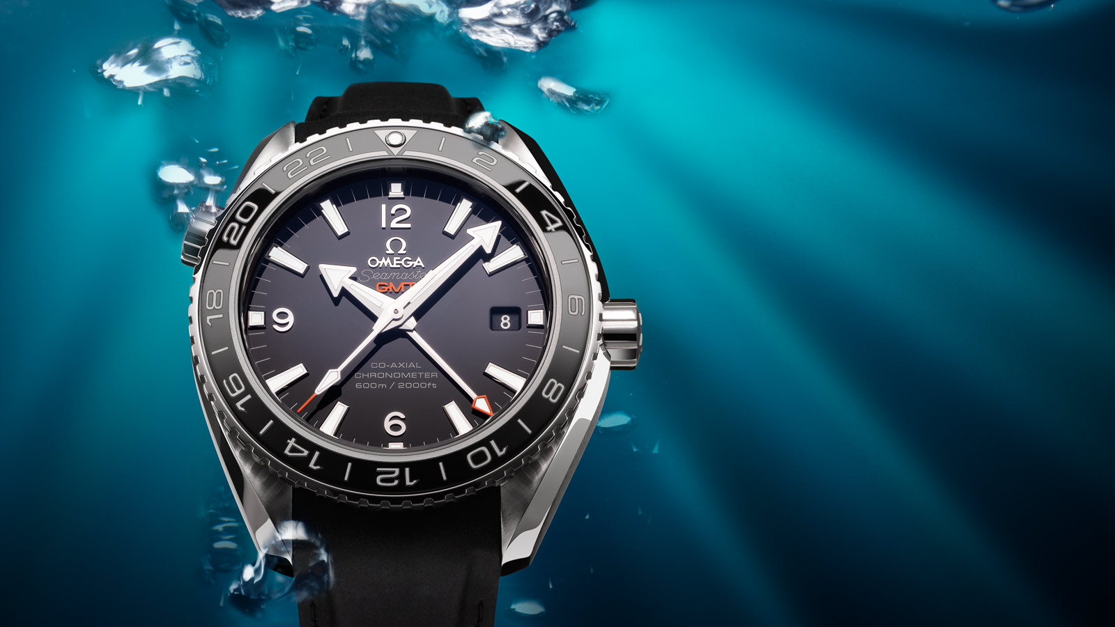 Seamaster Planet Ocean 600M Planet Ocean 600M Omega Co‑axial GMT 43,5 mm - 232.32.44.22.01.001 - Просмотреть 1