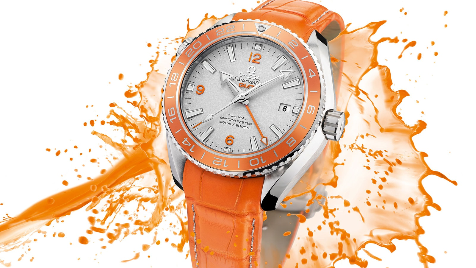 Seamaster Planet Ocean 600M Planet Ocean 600M Omega Co‑axial GMT 43.5mm Watch - 232.93.44.22.99.001