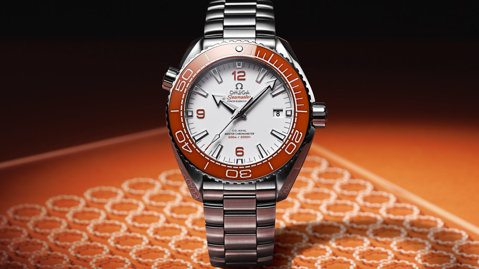 Seamaster Planet Ocean 600M Planet Ocean 600M Omega Co‑Axial Master Chronometer 43.5 mm Watch - 215.30.44.21.04.001