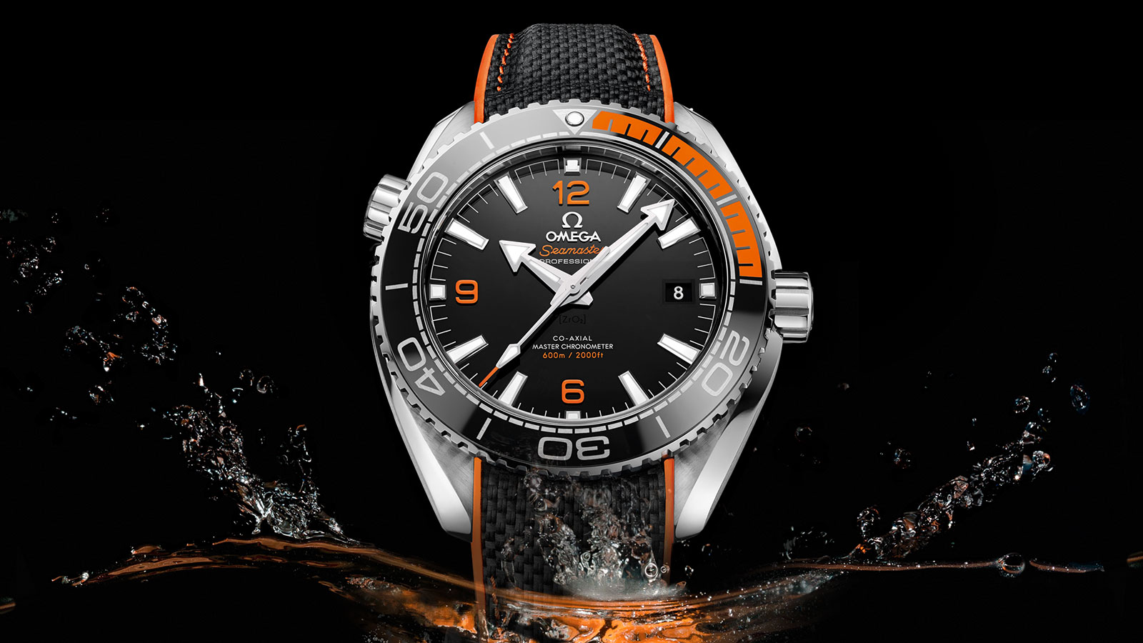 Seamaster Planet Ocean 600M Planet Ocean 600M Omega Co‑Axial Master Chronometer 43,5 mm Montre - 215.32.44.21.01.001