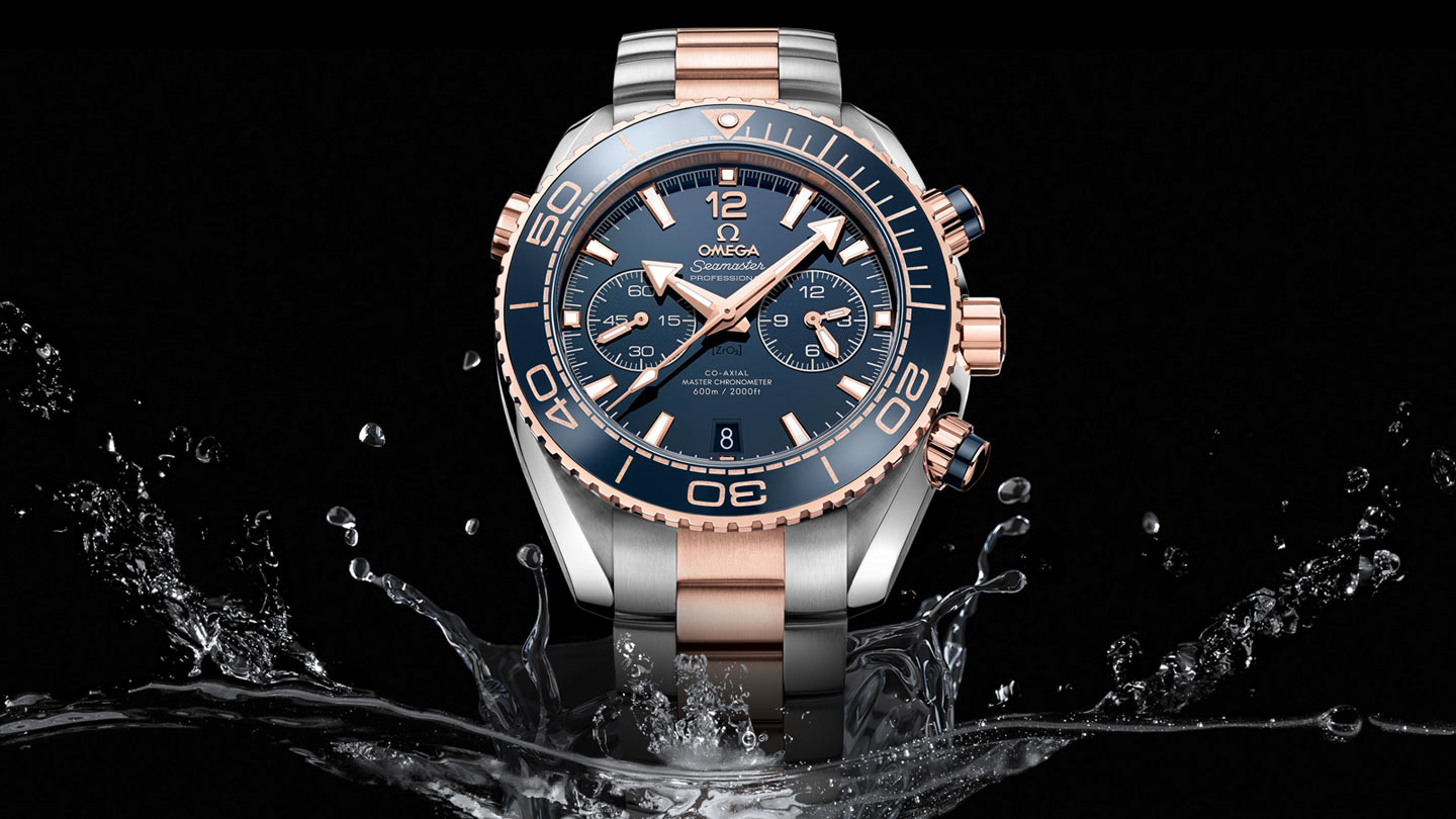 Seamaster Planet Ocean 600M Planet Ocean 600M Omega Co‑Axial Master Chronometer Chronograph 45.5 mm - 215.20.46.51.03.001 - View 1