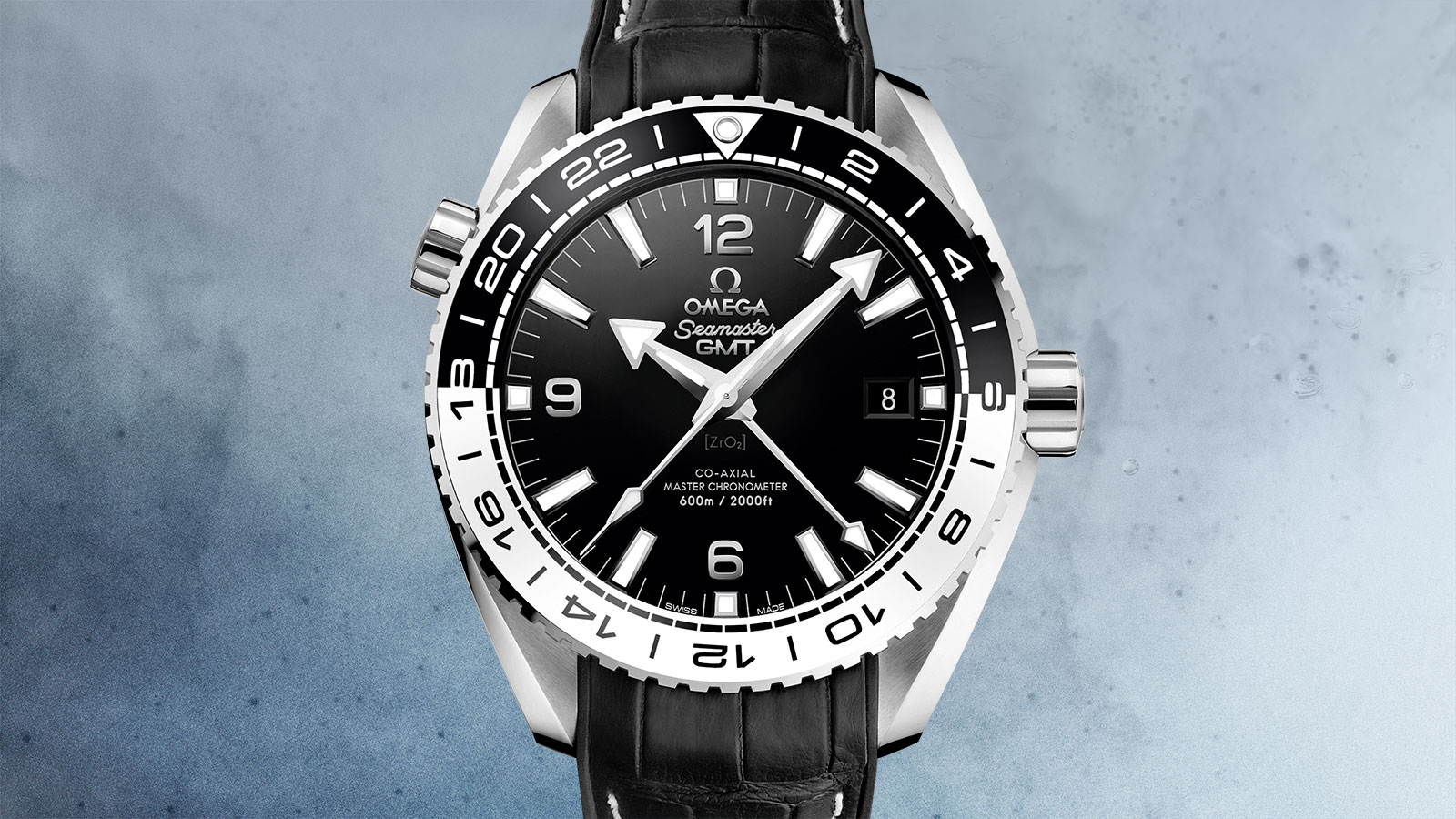 Seamaster Planet Ocean 600M Planet Ocean 600M Omega Co‑axial Master Chronometer GMT 43.5 mm Watch - 215.33.44.22.01.001