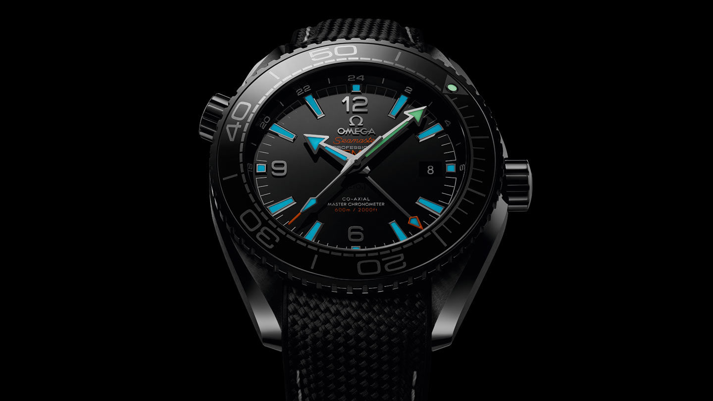 Seamaster Planet Ocean 600M Planet Ocean 600M Omega Co‑Axial Master Chronometer GMT 45,5 mm - 215.92.46.22.01.001 - Afficher 1