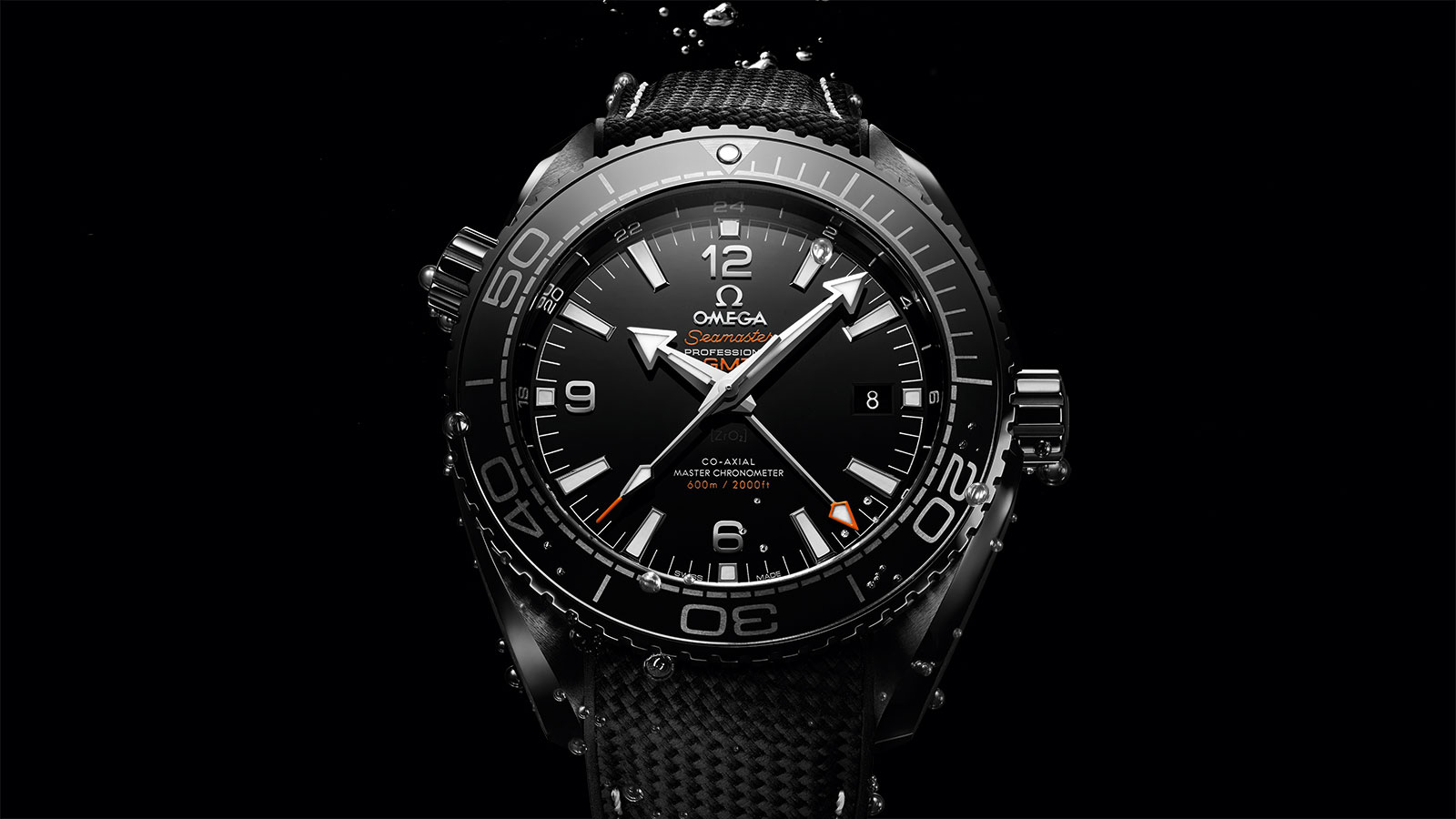 Seamaster Planet Ocean 600M Planet Ocean 600M Omega Co‑Axial Master Chronometer GMT 45,5 mm Montre - 215.92.46.22.01.001