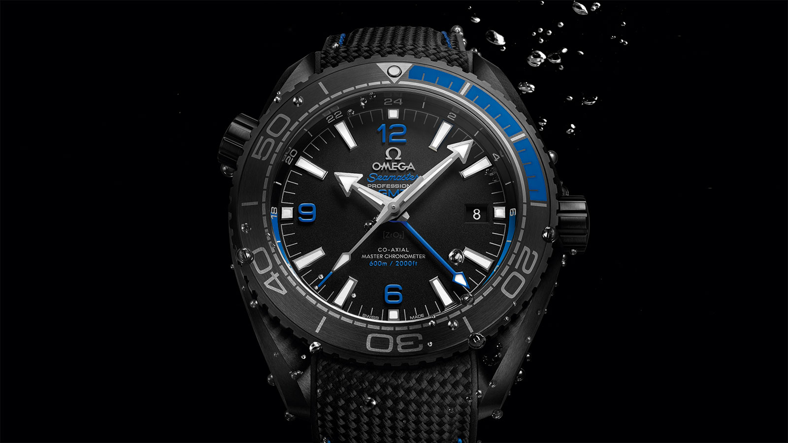 Seamaster Planet Ocean 600M Planet Ocean 600M Omega Co‑axial Master Chronometer GMT 45.5 mm Watch - 215.92.46.22.01.002