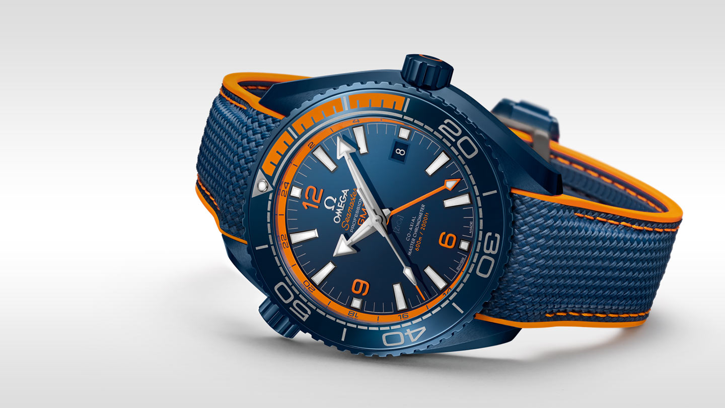Seamaster Planet Ocean 600M Planet Ocean 600M Omega Co‑axial Master Chronometer GMT 45.5 mm - 215.92.46.22.03.001 - View 3