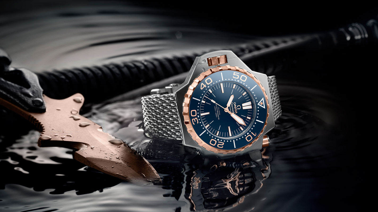 Seamaster Ploprof 1200M Ploprof 1200M Omega Co‑Axial Master Chronometer 55 x 48 mm Watch - 227.60.55.21.03.001