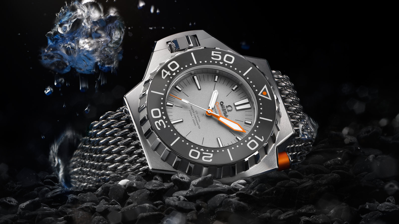 Seamaster Ploprof 1200M Ploprof 1200M Omega Co‑Axial Master Chronometer 55 x 48 mm - 227.90.55.21.99.001 - View 1