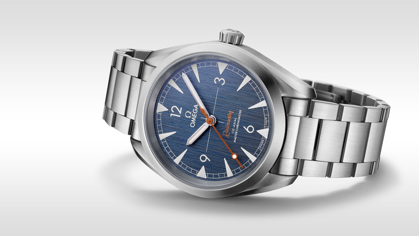 Seamaster Railmaster Railmaster Omega Co‑Axial Master Chronometer 40 mm - 220.10.40.20.03.001 - Просмотреть 1