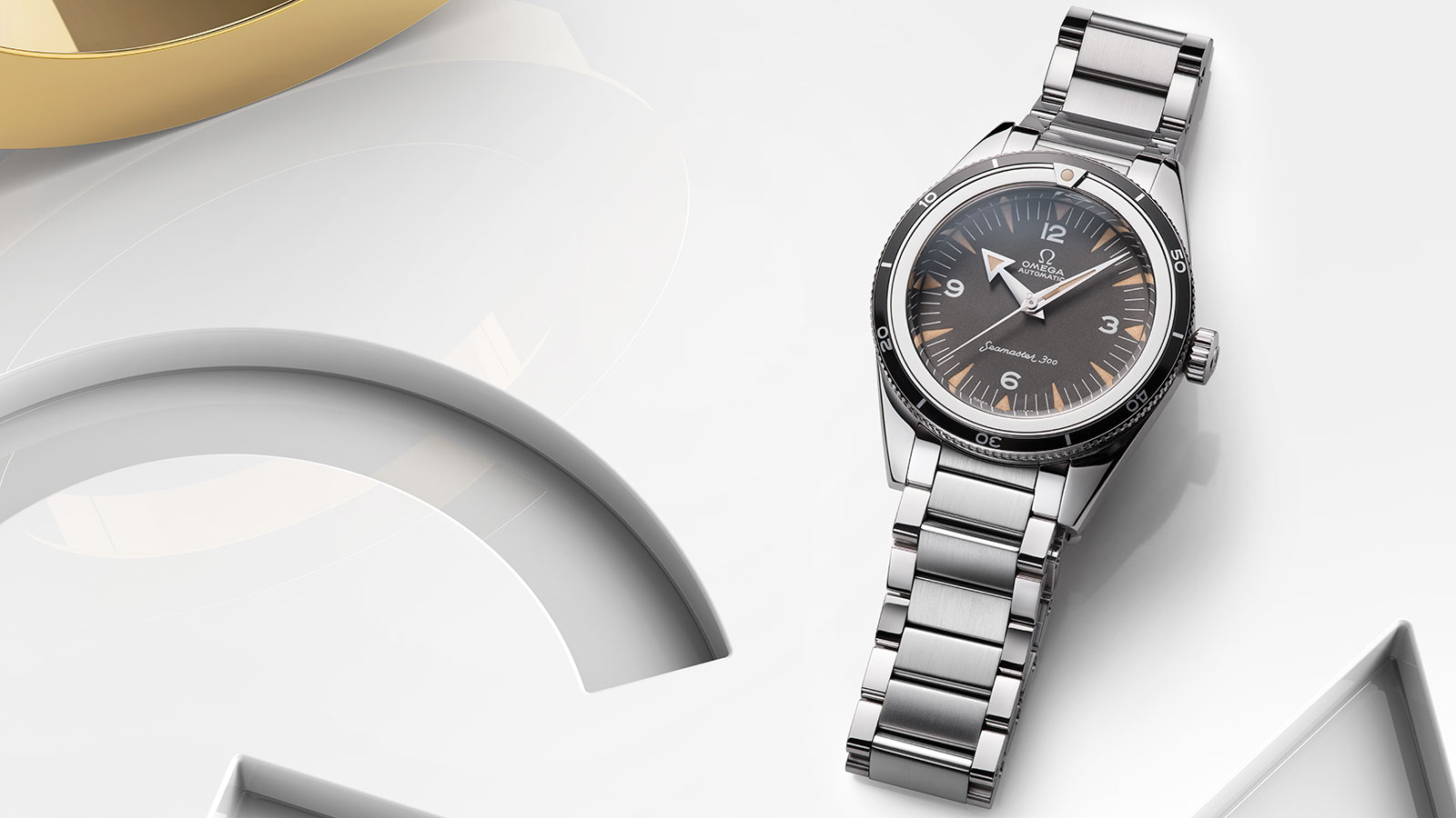 Seamaster The Collection Seamaster 300 Omega Co‑Axial Master Chronometer 39 mm Watch - 234.10.39.20.01.001