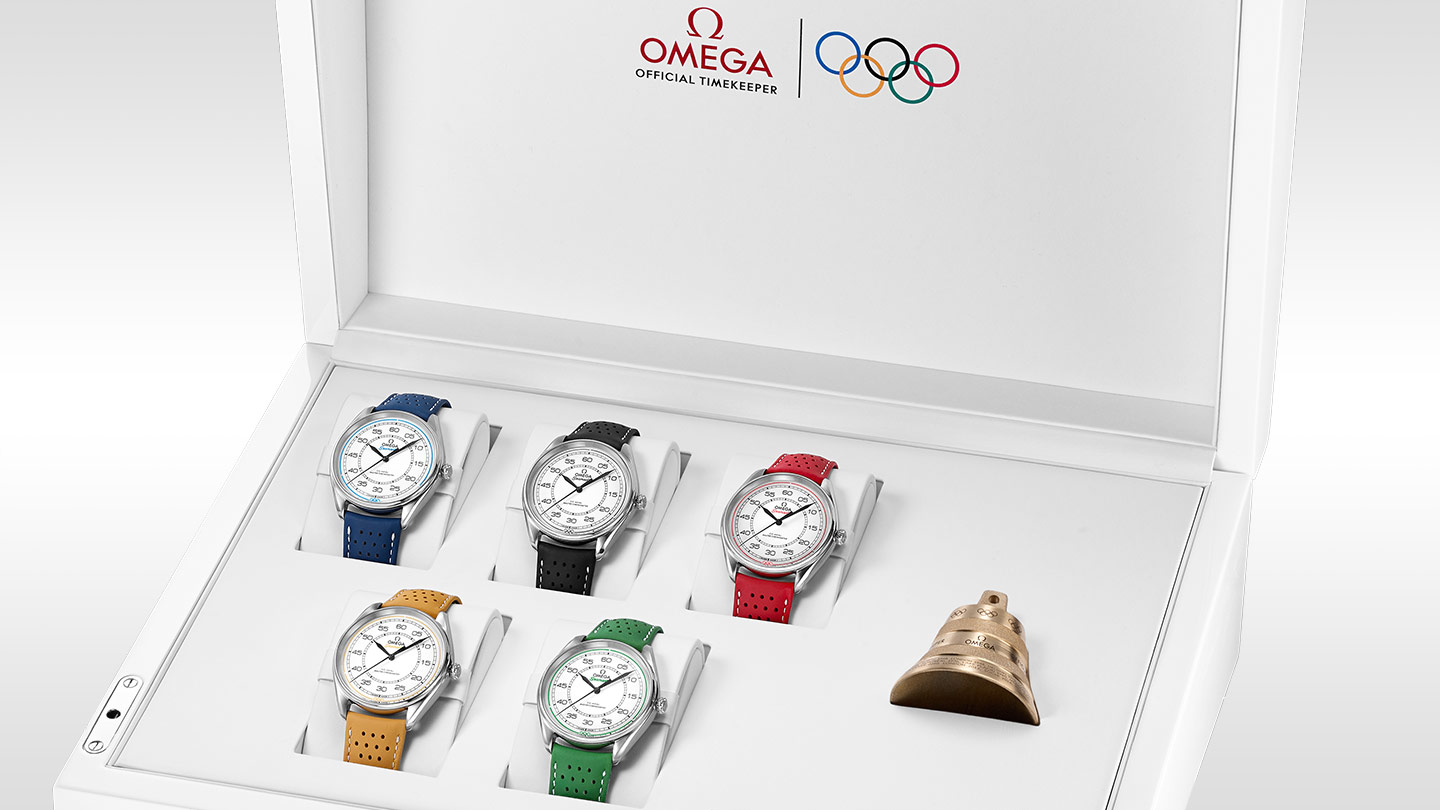 Modelli Speciali Olympic Official Timekeeper Olympic Official Timekeeper - 522.32.40.20.04.002 - Visualizzare 1