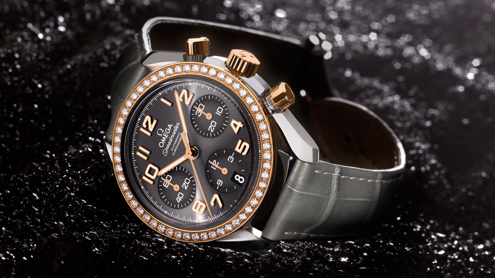 Speedmaster Ladies' Chronograph Speedmaster Chronograph 38 mm - 324.28.38.40.06.001 - Visualizzare 3