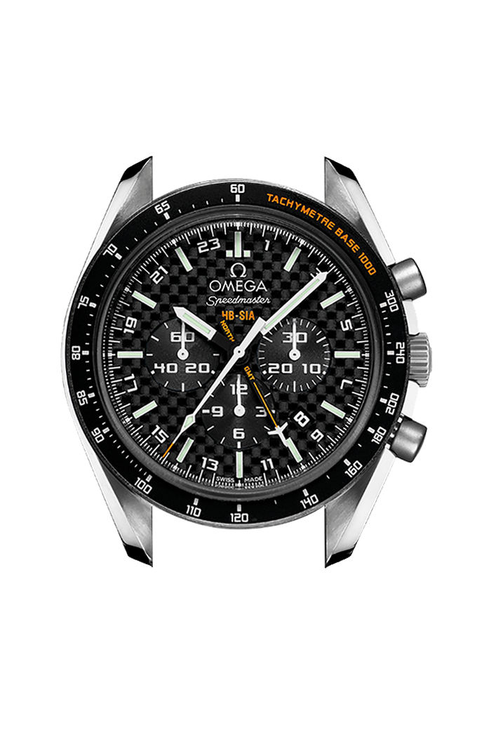 Co-Axial Chronometer GMT Chronograph Numbered Edition 44.25mm - 321.92.44.52.01.003