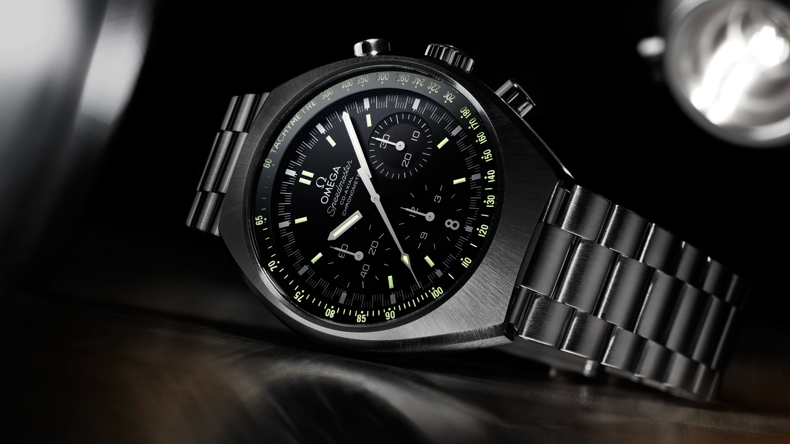 Speedmaster Mark II Mark II Co‑Axial Chronograph 42,4 x 46,2 mm - 327.10.43.50.01.001 - Vista 1