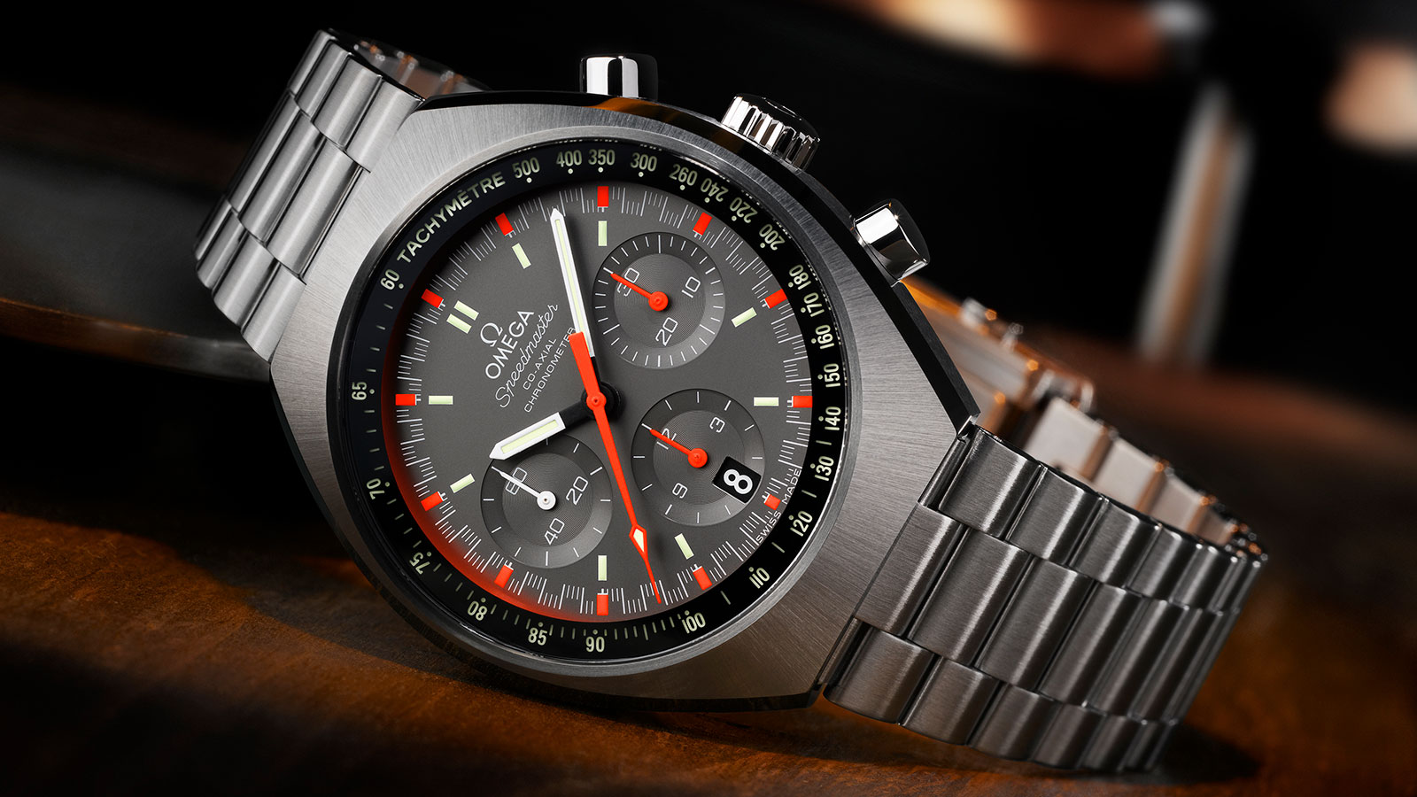 Speedmaster Mark II Mark II Co‑Axial Chronograph 42.4 x 46.2 mm Watch - 327.10.43.50.06.001