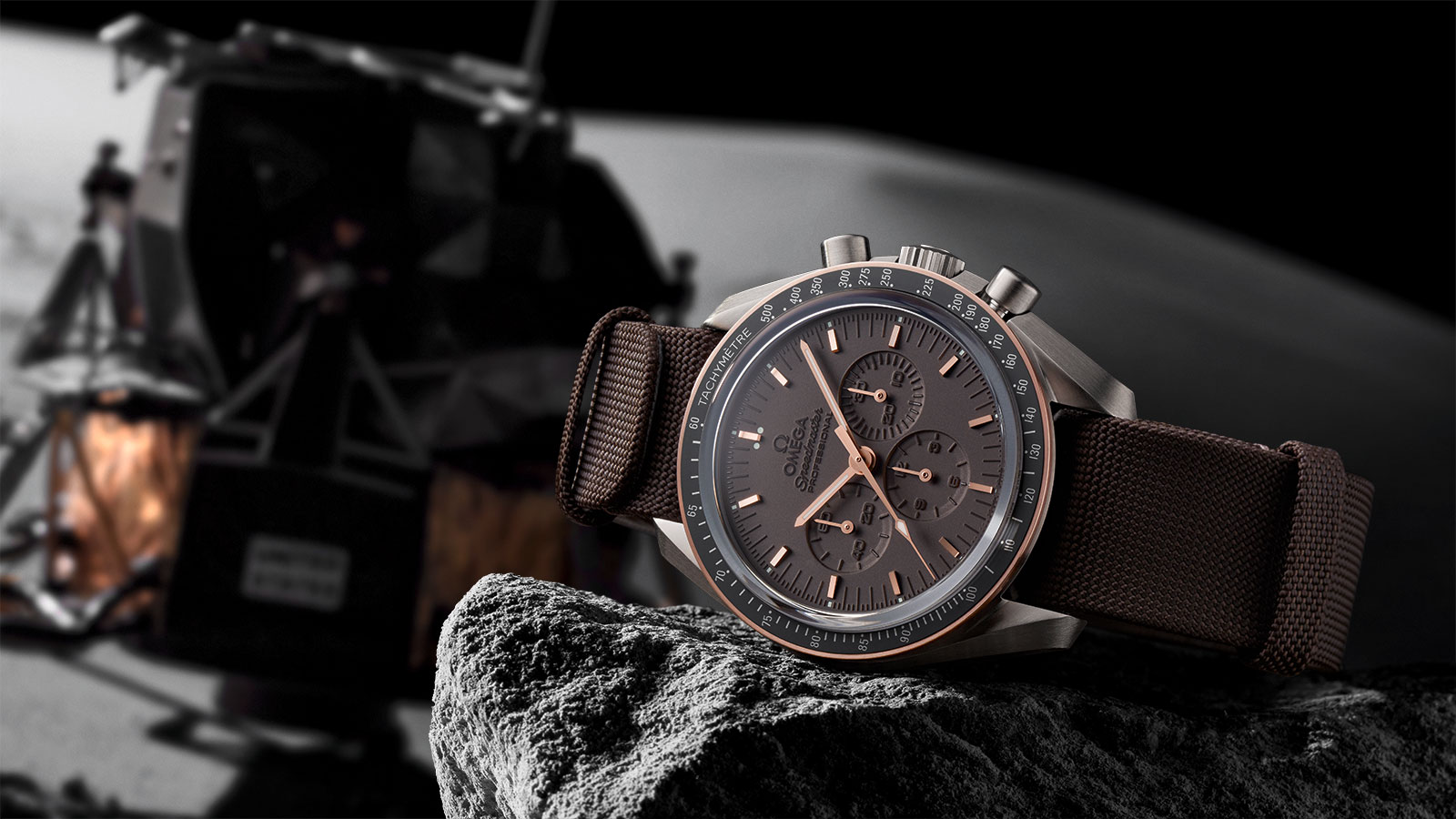 Speedmaster Moonwatch Moonwatch Series Limitadas Aniversario Reloj - 311.62.42.30.06.001
