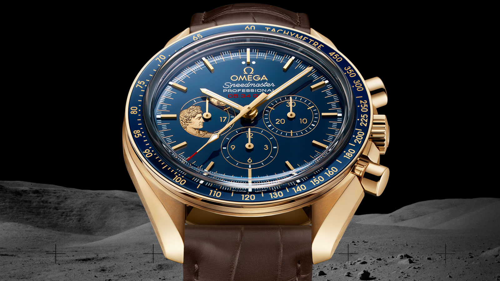 Speedmaster Moonwatch Moonwatch Series Limitadas Aniversario Reloj - 311.63.42.30.03.001