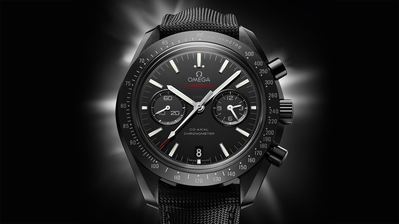 Speedmaster Moonwatch Moonwatch Omega Co‑Axial Chronograph 44.25 mm Watch - 311.92.44.51.01.003