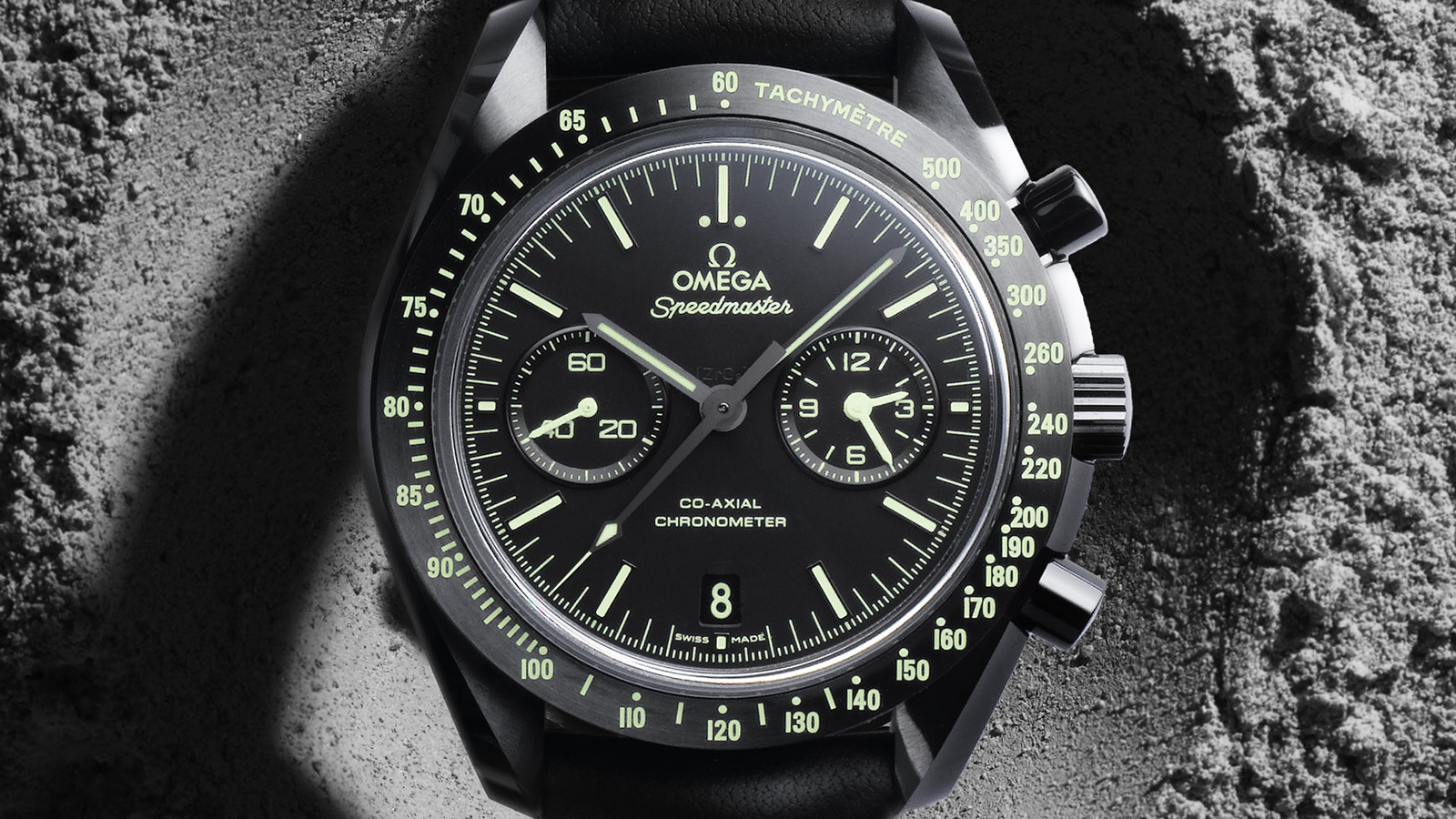 Speedmaster Moonwatch Moonwatch Omega Co‑Axial Chronograph 44,25 mm - 311.92.44.51.01.004 - Anzeigen 1