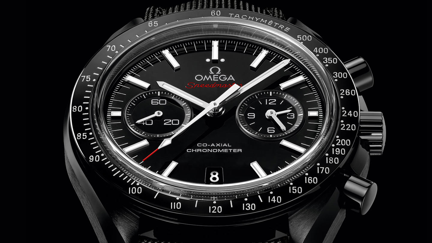 Speedmaster Moonwatch Moonwatch Chronographe Omega Co‑Axial 44,25 mm - 311.92.44.51.01.007 - Afficher 1
