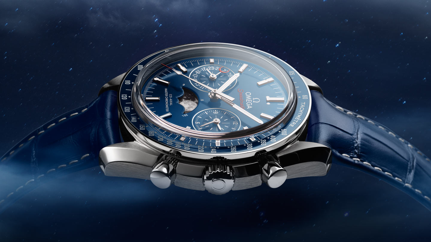 Speedmaster Moonwatch Moonwatch Omega Co‑Axial Master Chronometer Moonphase Chronograph 44.25 mm - 304.33.44.52.03.001 - View 1